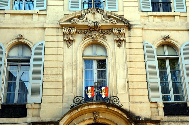 Prefektura budynek, Arles, Francja obrazy stock