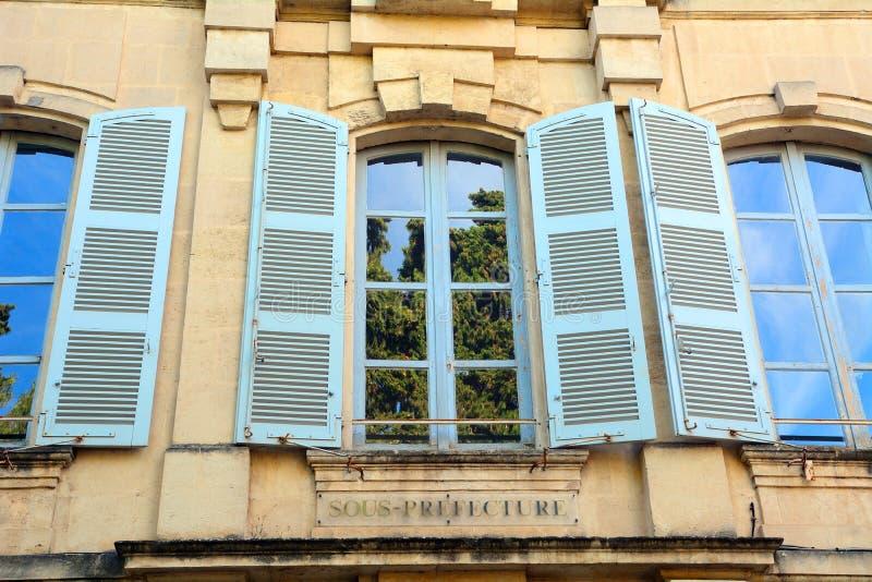 Prefektura budynek, Arles, Francja fotografia royalty free