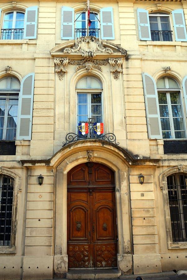 Prefektura budynek, Arles, Francja obraz stock