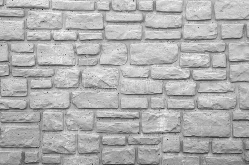Download Preformed Stone Wall In Black And White Stock Photo - Image: 39452486