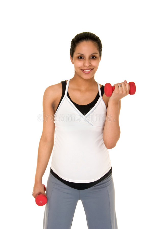 Download Pregancy Exercise stock image. Image of happy, maternal - 6484365