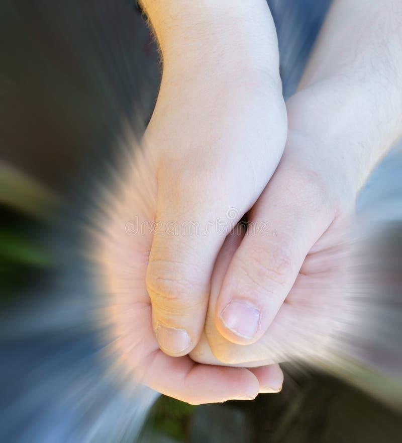 Preghiera. fotografia stock libera da diritti