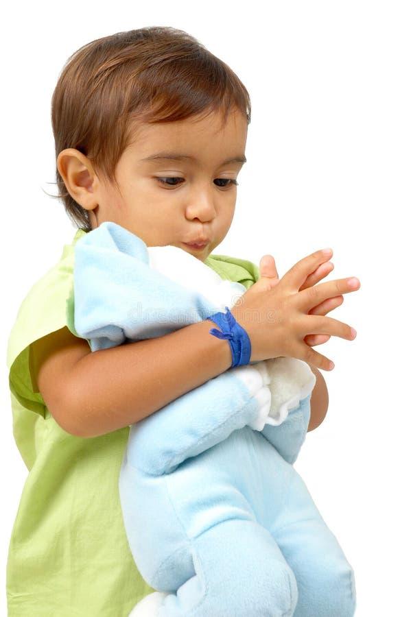 Preghiera del bambino immagini stock libere da diritti