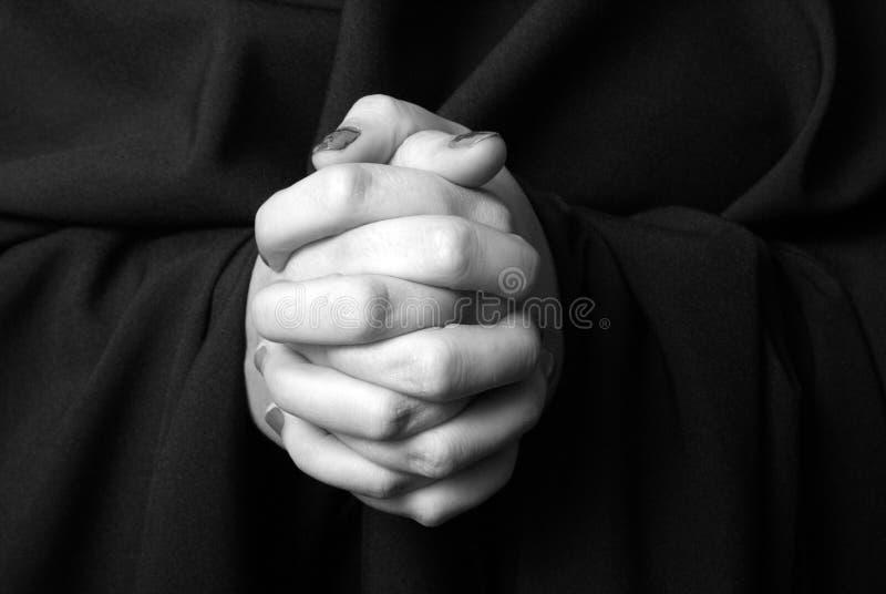 preghiere fotografia stock