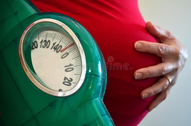 Pregnancy - pregnant woman health care royalty free stock photo