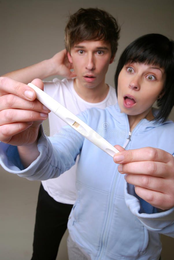 Download Pregnancy test stock image. Image of indoors, female - 24257585