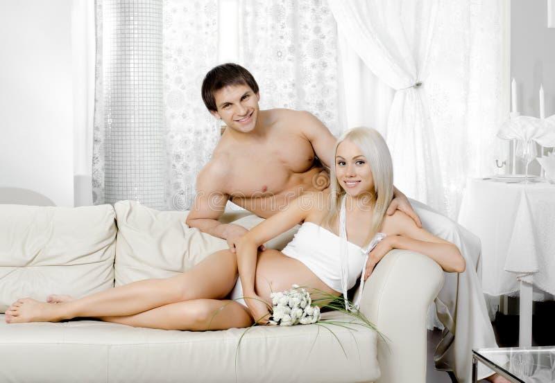 Pregnant Family Stock Photos