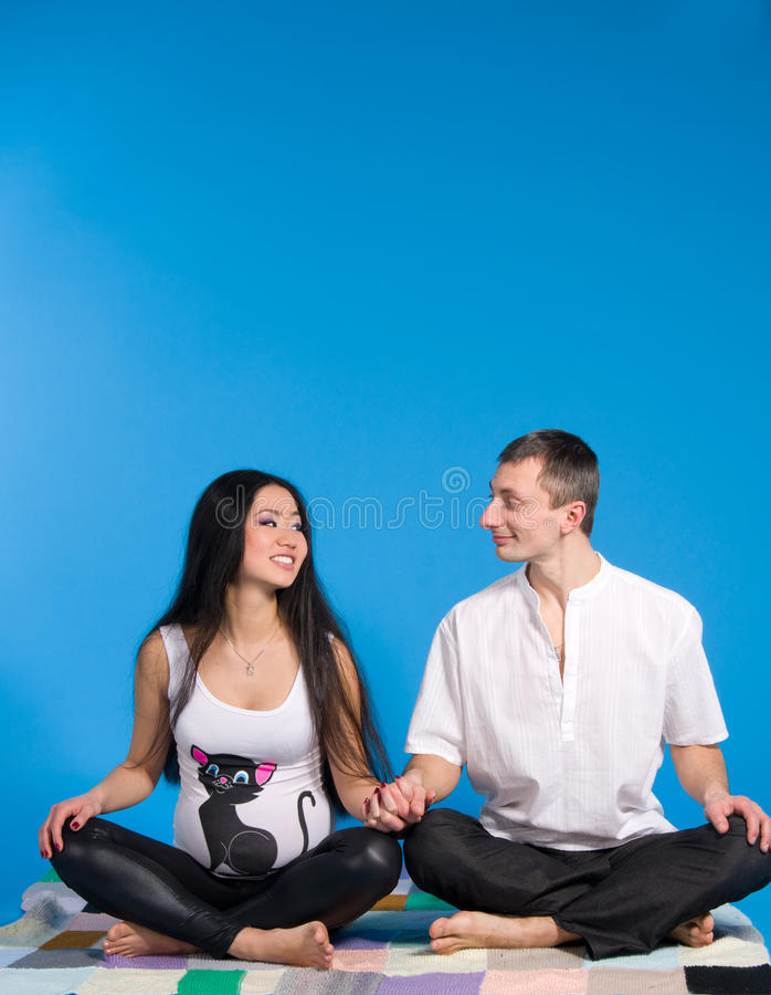 Download Pregnant Parents-in Anticipation Of Child Stock Photo - Image: 26403754