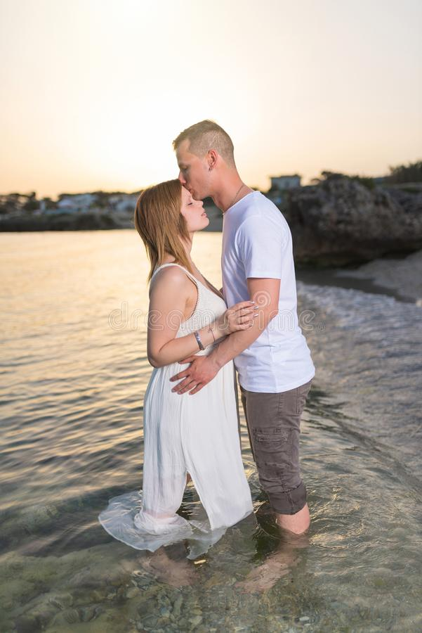 Young Wife Kissing Her Husband Stock Images - Download 523