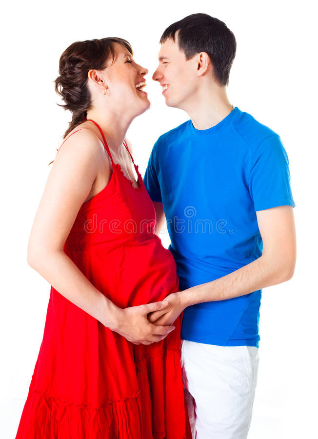 Download Pregnant Woman And Her Husband Stock Image - Image: 14458349