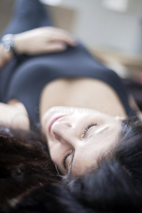 Free Pregnant Woman Resting Stock Image - 29380351