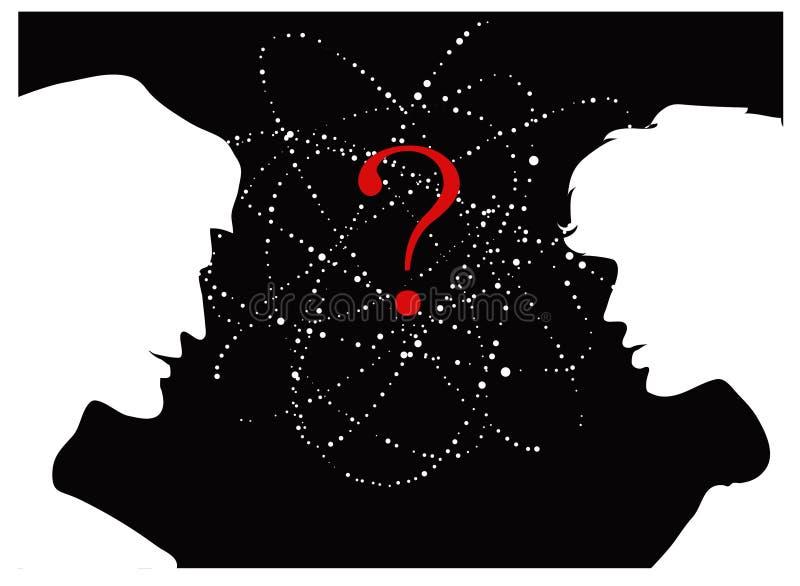 Pregunta ilustración del vector