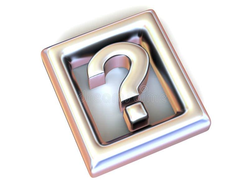 Pregunta. Información. Símbolo stock de ilustración