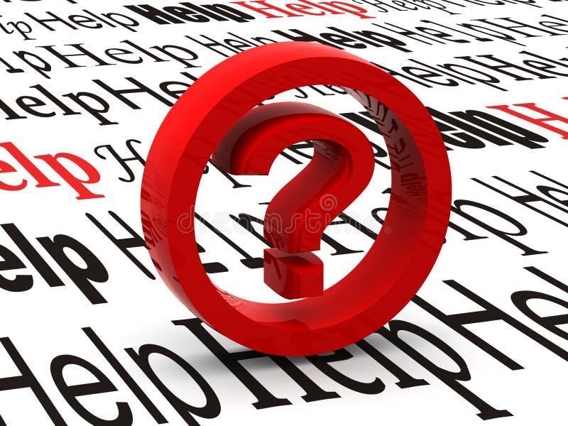 Pregunta. Símbolo ilustración del vector