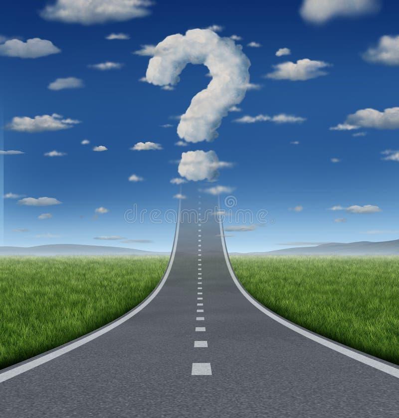 Preguntas del éxito libre illustration