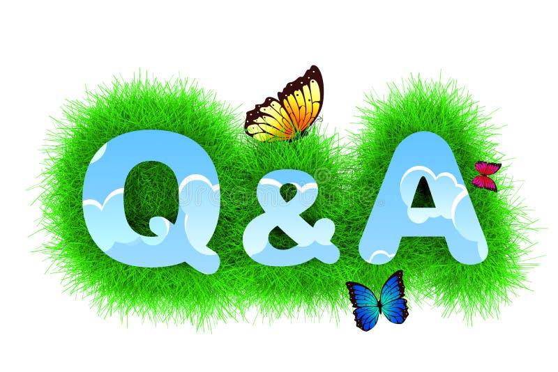 Preguntas y respuestas libre illustration