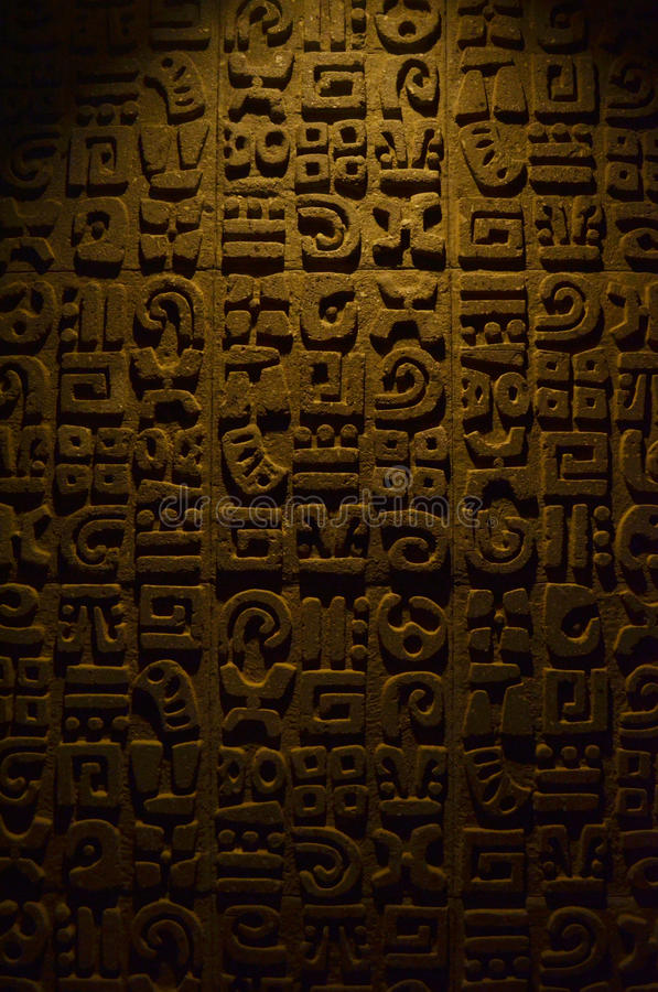Prehispanic textur royaltyfria foton