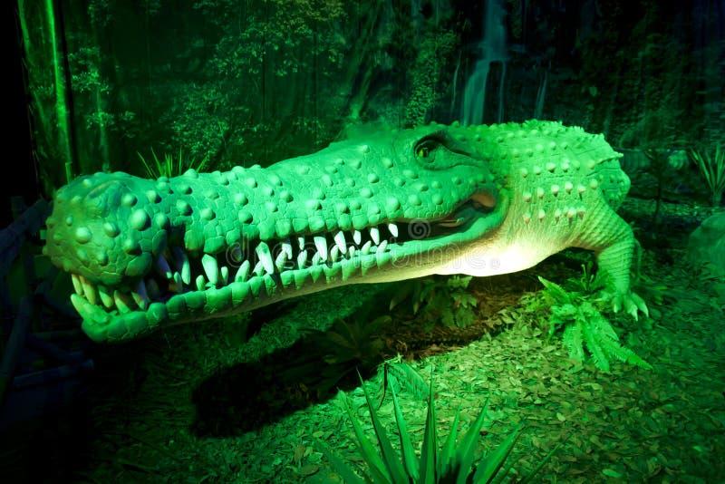 Download Prehistoric alligator editorial stock image. Image of exhibit - 25254669