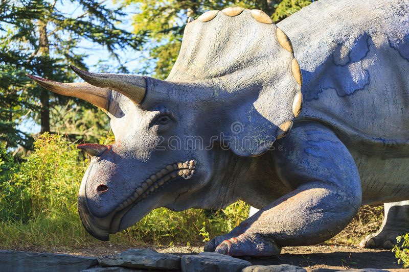 Prehistoric Park royalty free stock image