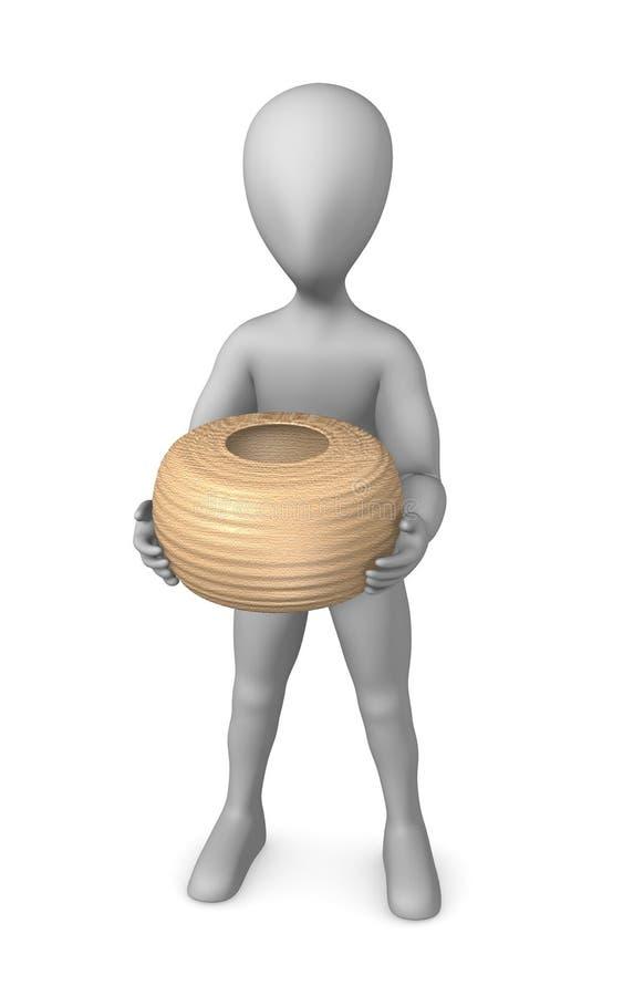 prehistoryczna waza ilustracji