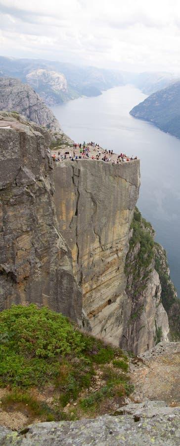 Download Preikestolen stock image. Image of peak, overlook, norway - 23834543