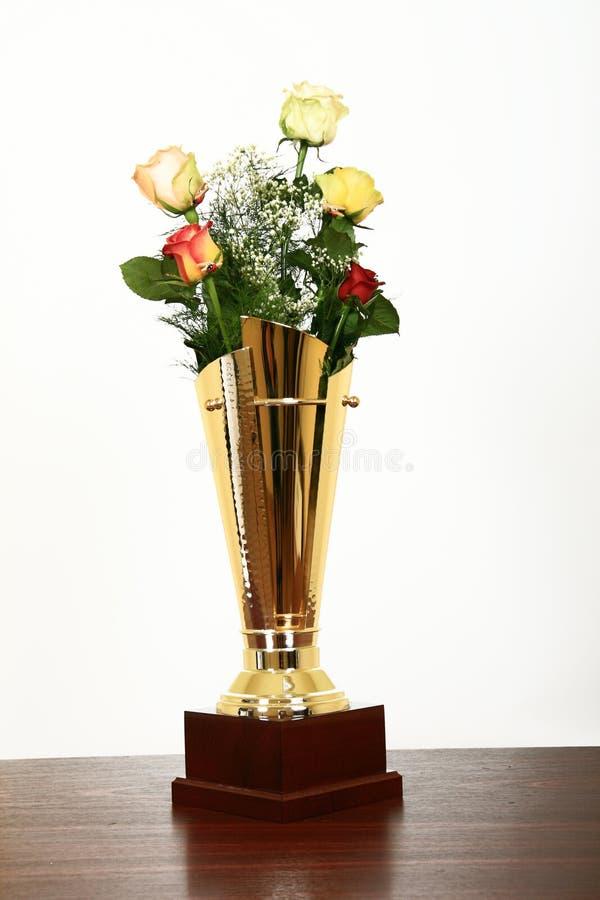 Preis für netteste Blumen stockbild