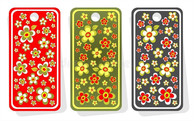Preise mit Blumen vektor abbildung