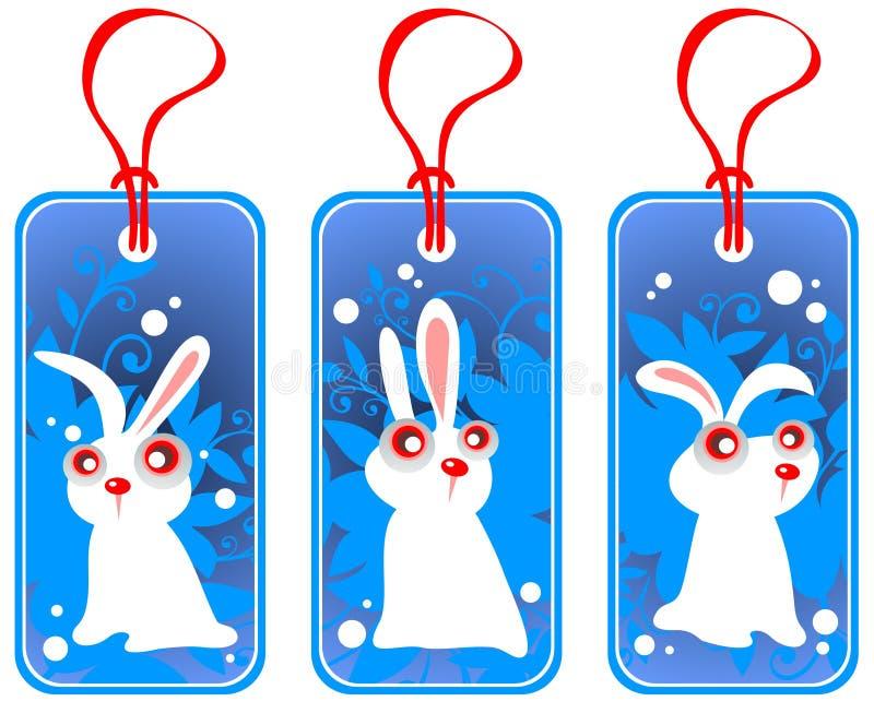 Preise mit Kaninchen stock abbildung
