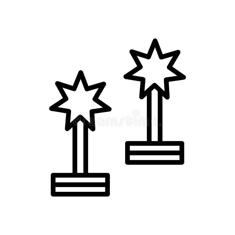 Preisikonenvektor lokalisiert auf weißem Hintergrund, Preiszeichen, Linie und Entwurfselementen in der linearen Art stock abbildung