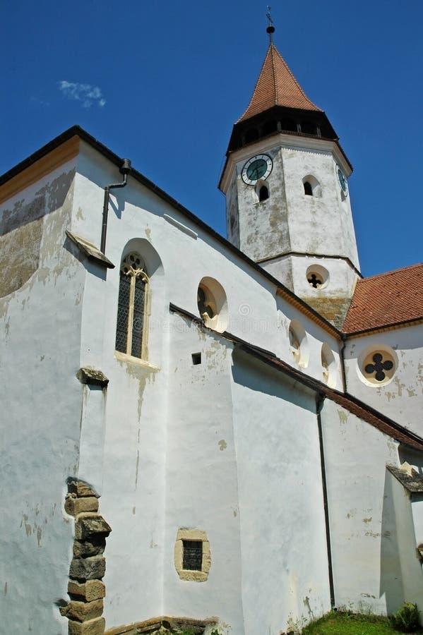 Prejmer fortified church, Brasov. Transylvania stock image