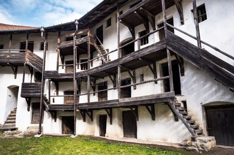 Prejmer Fortress, Transylvania, Romania royalty free stock images