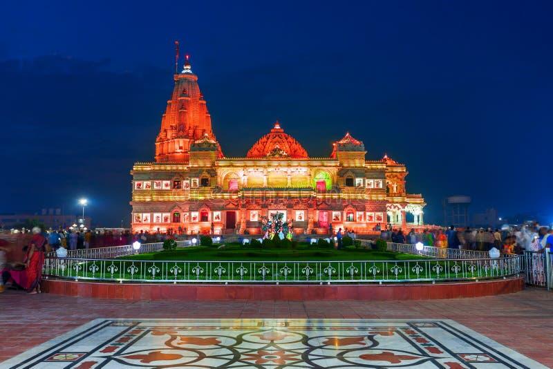 prem mandir krishna temple vrindavan prem mandir hindu temple dedicated to shri radha krishna vrindavan near mathura city 172680874