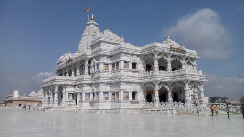 Prem Temple, Mathura, la India foto de archivo