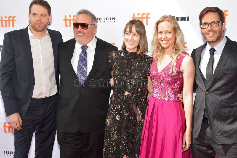 Première de ` d'Unicorn Store de ` de Brie Larson Directory Debut au festival 2017 de film international de Toronto photographie stock libre de droits