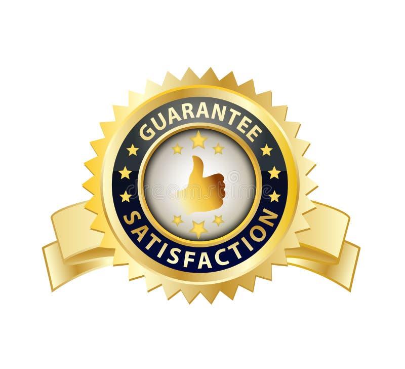 Première garantie Statisfaction illustration libre de droits