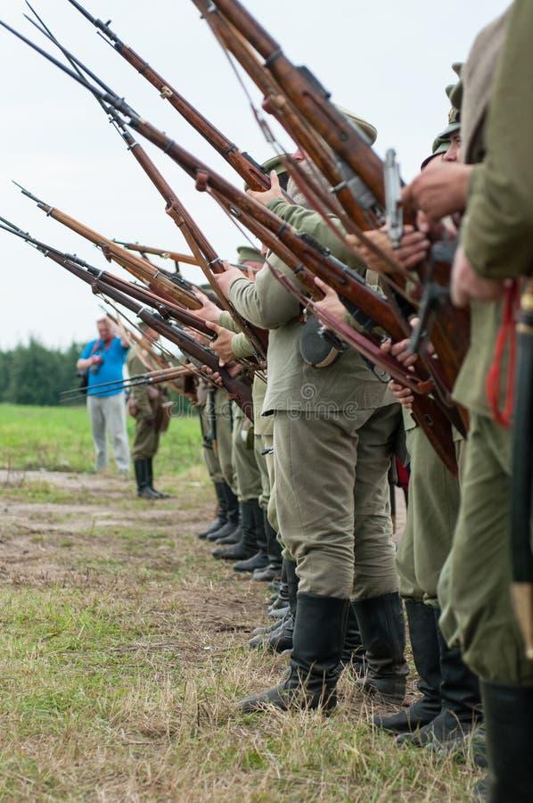 Première Guerre Mondiale photo libre de droits