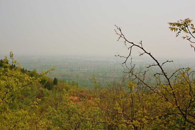 Première montagne d'ancêtre de Xinzheng photos libres de droits