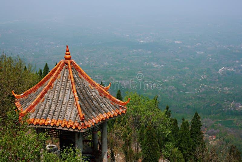 Première montagne d'ancêtre de Xinzheng photo stock