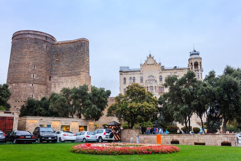 Première tour à Bakou photo stock