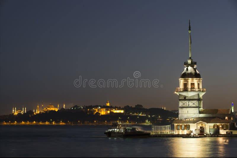 Première tour, Istanbul, Turquie image stock
