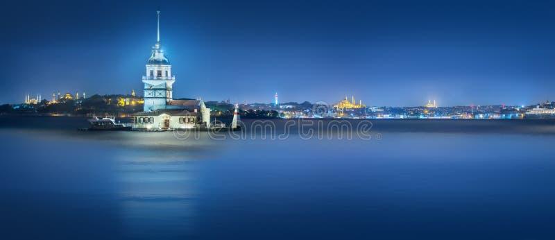 Premi?re tour dans le d?troit Istanbul, Turquie de Bosphorus photos stock