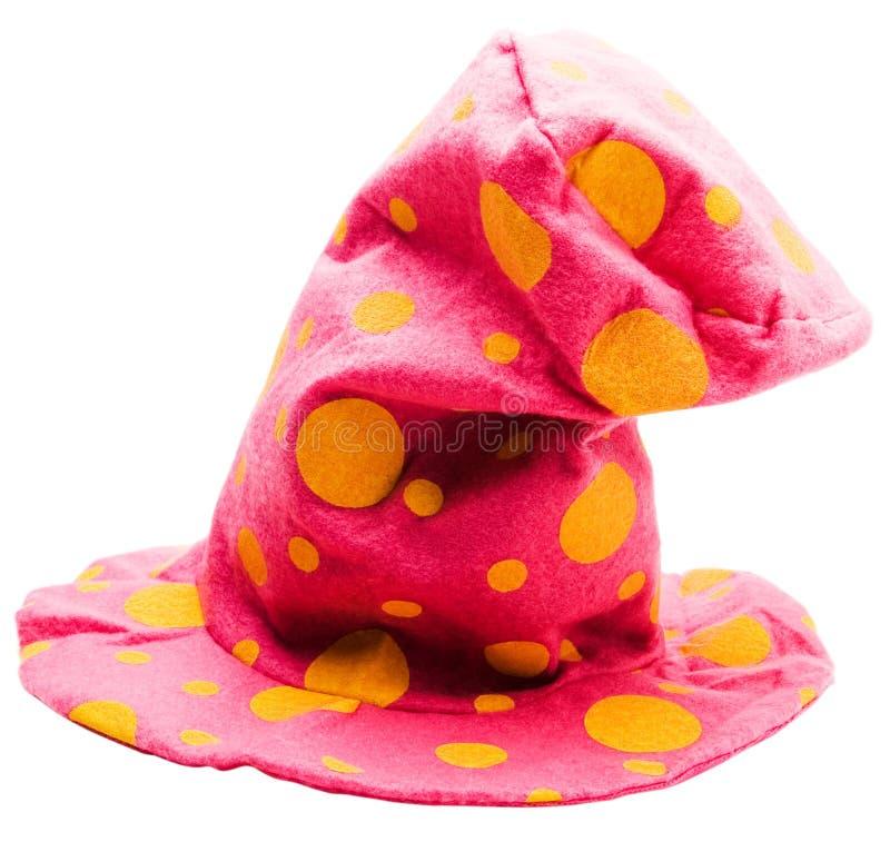 Premier chapeau pointillé images stock