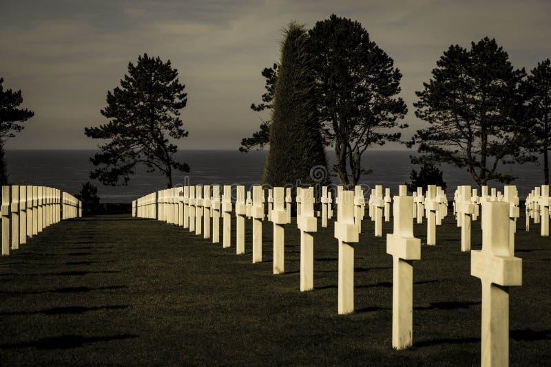 Premier cimetière de guerre mondiale photos libres de droits