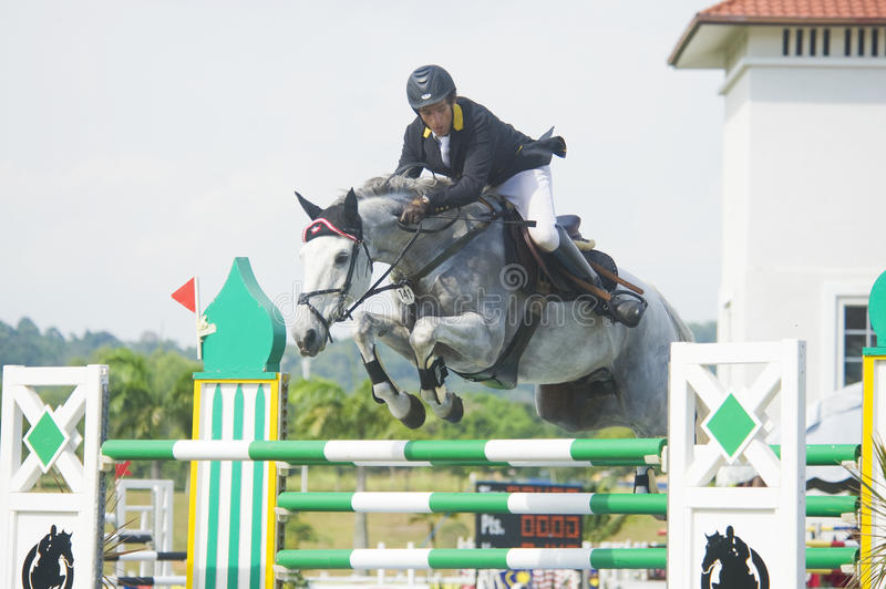 Download Premier Cup Show Jumping Equestrian Editorial Photography - Image of horseback, dangerous: 14366957