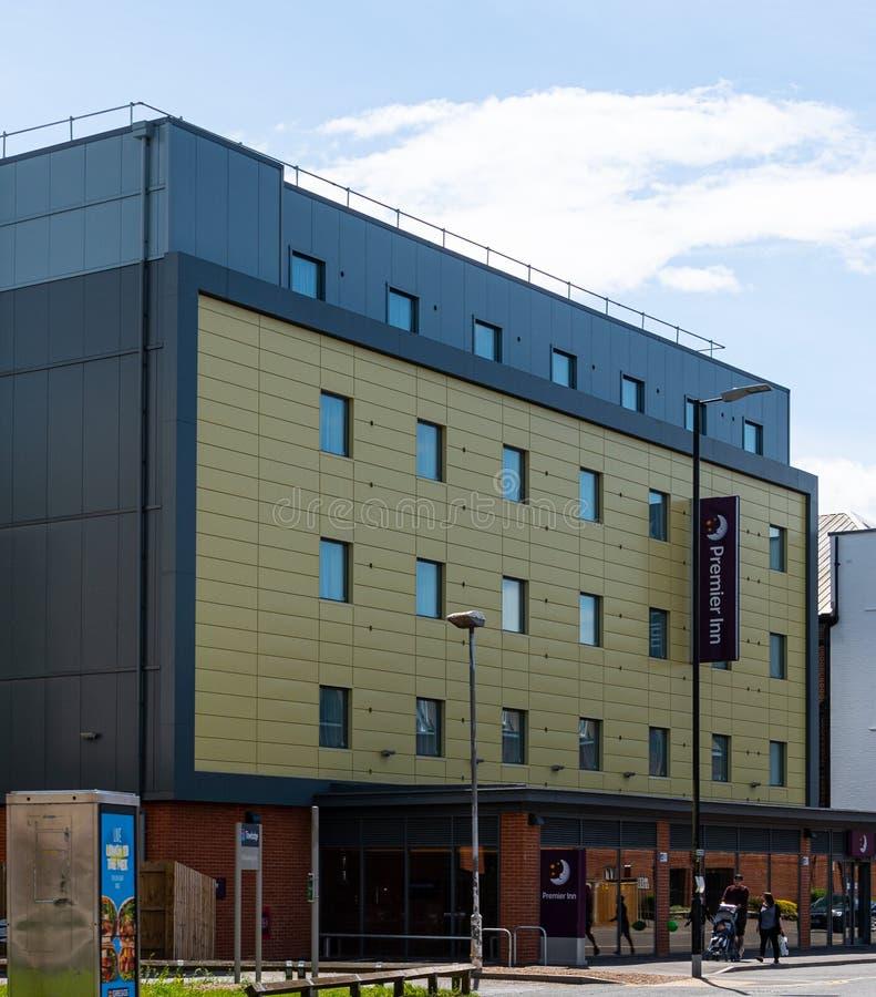 Premier Inn newbury immagini stock