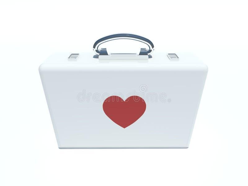Premier kit d'amour illustration de vecteur