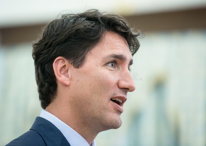 Premier ministre de Canada Justin Trudeau photos stock