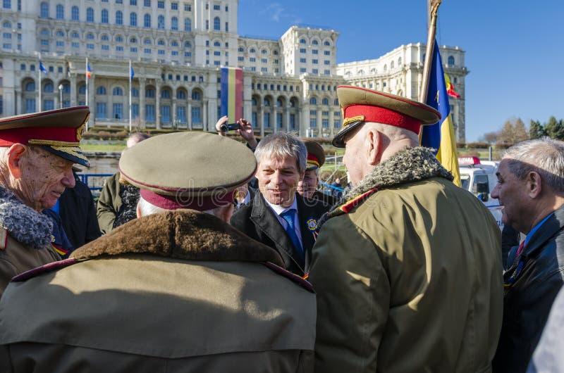 Premier ministre roumain Dacian Ciolos photo stock