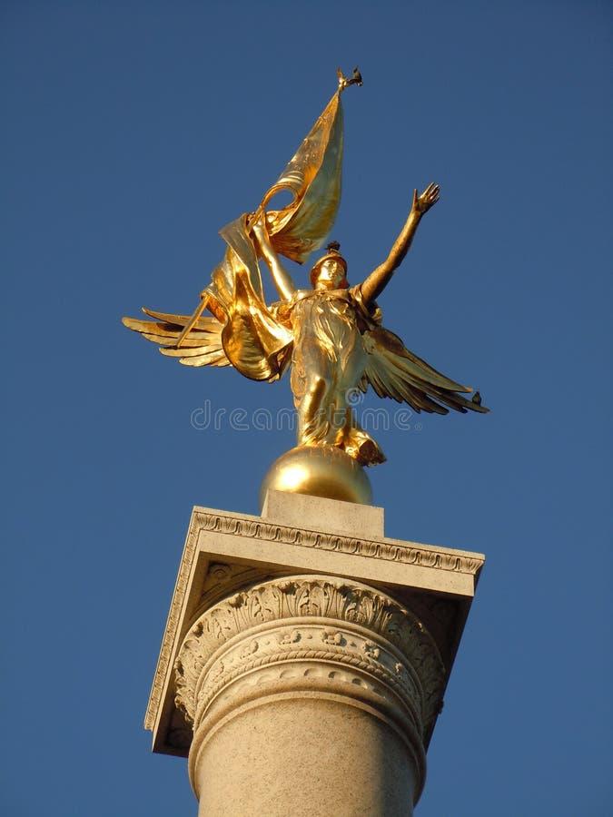Premier monument de Division image stock