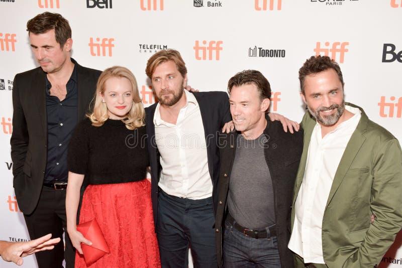 A premier quadrada do filme no festival de cinema internacional 2017 de Toronto imagens de stock royalty free